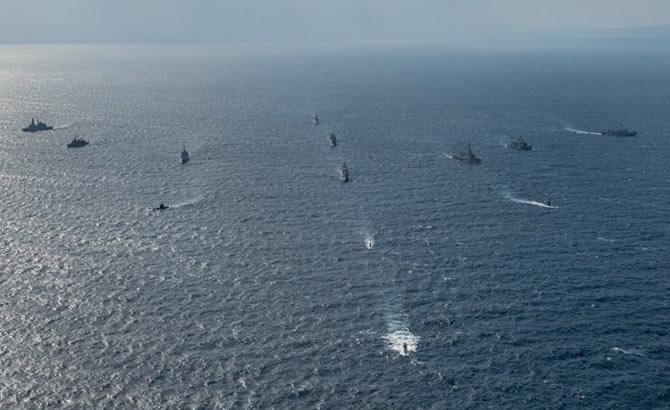 NATO'nun 'Dynamic Manta-2019' tatbikatı başladı galerisi resim 11