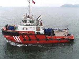 KURTARMA 12 römorkörü denize indirildi