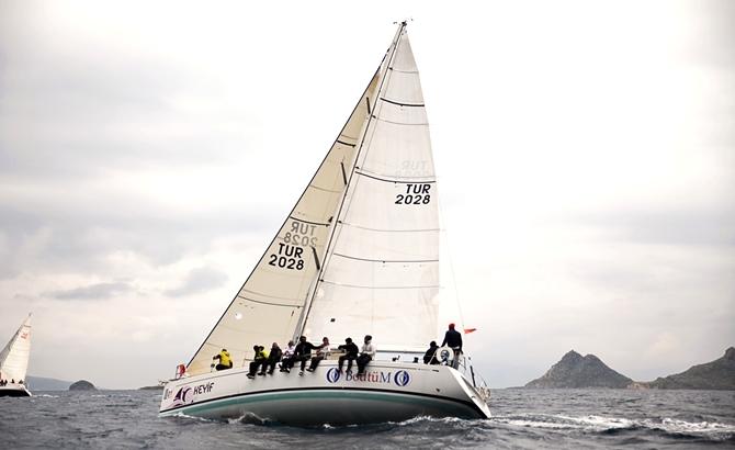 Dragut Sailing Cup 1. Ayak Yarışları sona erdi galerisi resim 3