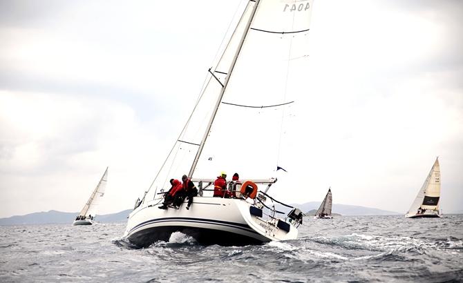 Dragut Sailing Cup 1. Ayak Yarışları sona erdi galerisi resim 6