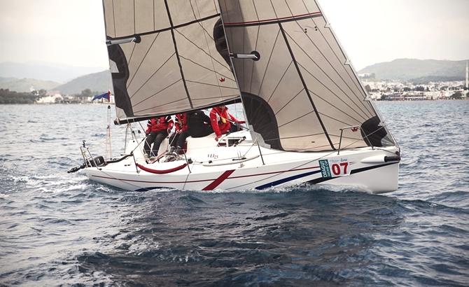 Dragut Sailing Cup 1. Ayak Yarışları sona erdi galerisi resim 8