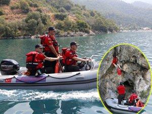 JAK timi, Fethiye'de kurtarma tatbikatı gerçekleştirdi