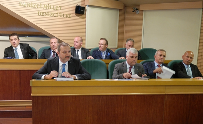 İMEAK DTO Temmuz Ayı Meclis Toplantısı yapıldı galerisi resim 2