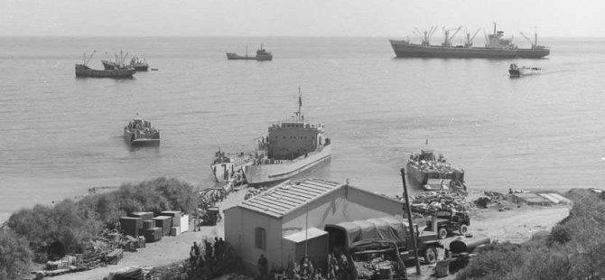 Kıbrıs Barış Harekatı'nın 45. yıl dönümü...