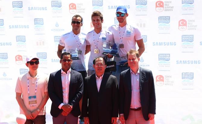 Boğaziçi Yüzme Yarışı'nda şampiyonlar belli oldu galerisi resim 13