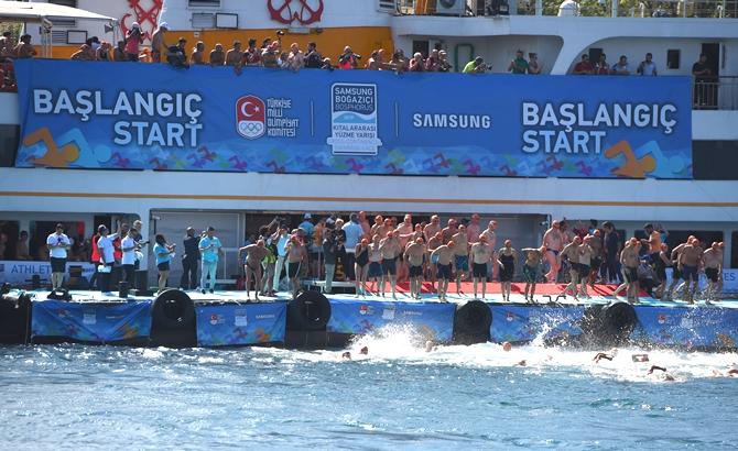Boğaziçi Yüzme Yarışı'nda şampiyonlar belli oldu galerisi resim 7