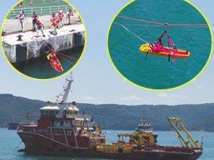 Varagele sistemi ile 58 gemici kurtarıldı