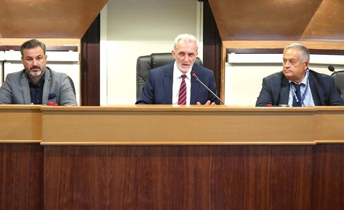 İMEAK DTO Ağustos Ayı Meclis Toplantısı yapıldı galerisi resim 1