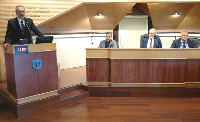 İMEAK DTO Ağustos Ayı Meclis Toplantısı yapıldı galerisi resim 18
