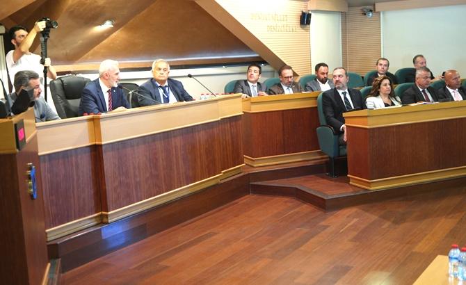 İMEAK DTO Ağustos Ayı Meclis Toplantısı yapıldı galerisi resim 6
