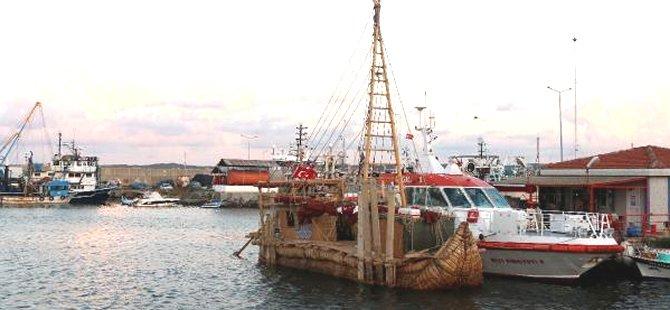 'Abora-IV' gemisi, Rumeli Feneri Limanı'na demirledi