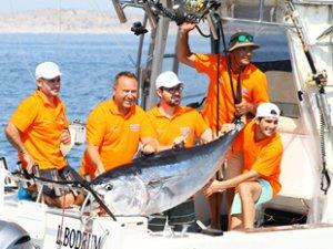 D-Marin Didim'de Balıkçılık Turnuvası düzenlendi