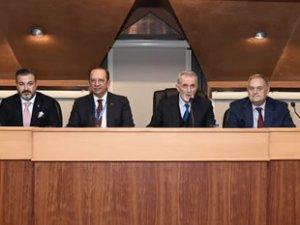 İMEAK DTO Aralık Ayı Olağan Meclis Toplantısı yapıldı