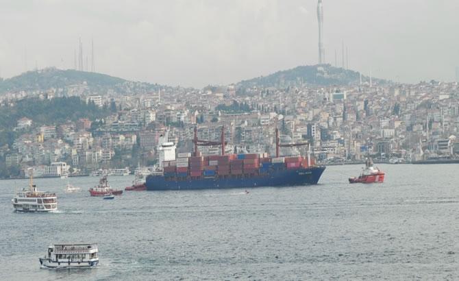 Kazazede gemi SONGA IRIDIUM, Ahırkapı'ya demir galerisi resim 1