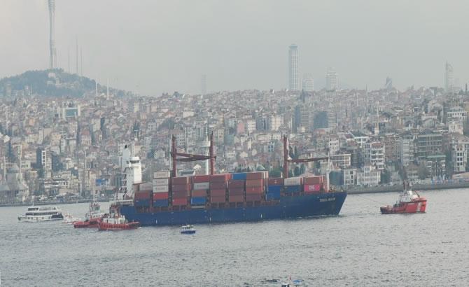 Kazazede gemi SONGA IRIDIUM, Ahırkapı'ya demir galerisi resim 2