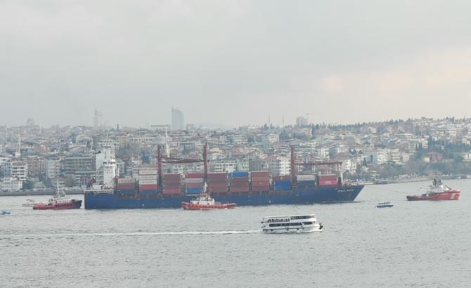 Kazazede gemi SONGA IRIDIUM, Ahırkapı'ya demir galerisi resim 4