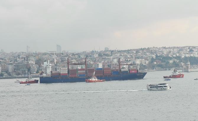 Kazazede gemi SONGA IRIDIUM, Ahırkapı'ya demir galerisi resim 5
