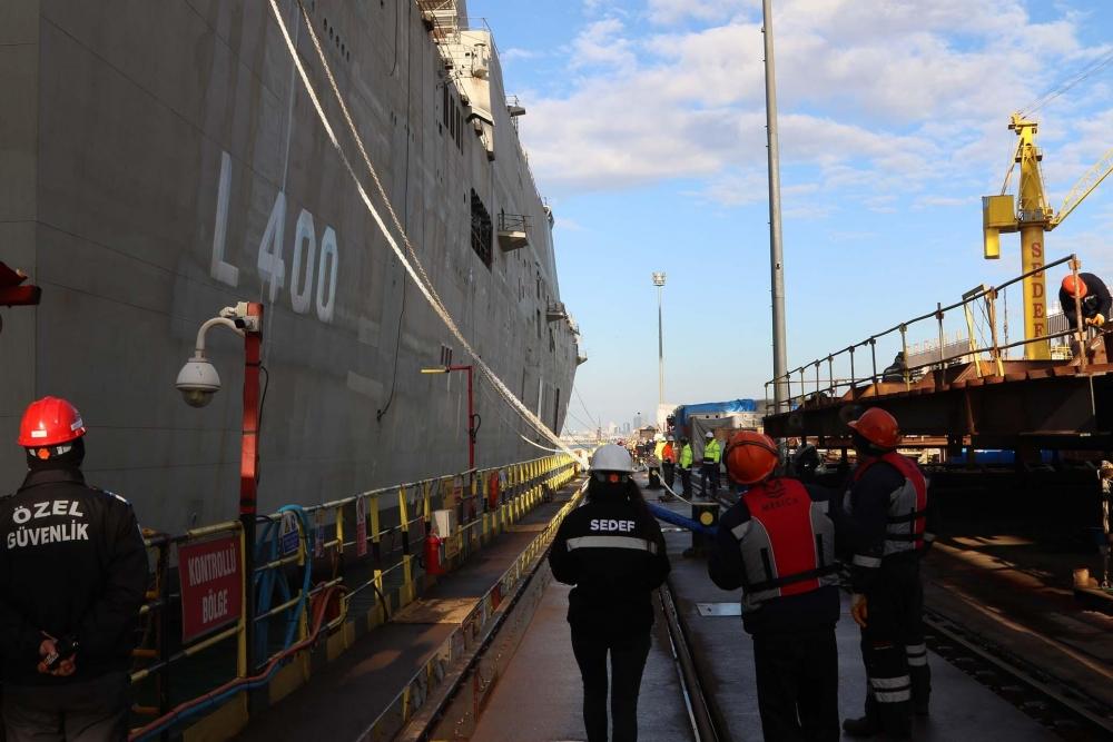 Türkiye'nin ilk uçak gemisi: TCG ANADOLU galerisi resim 13