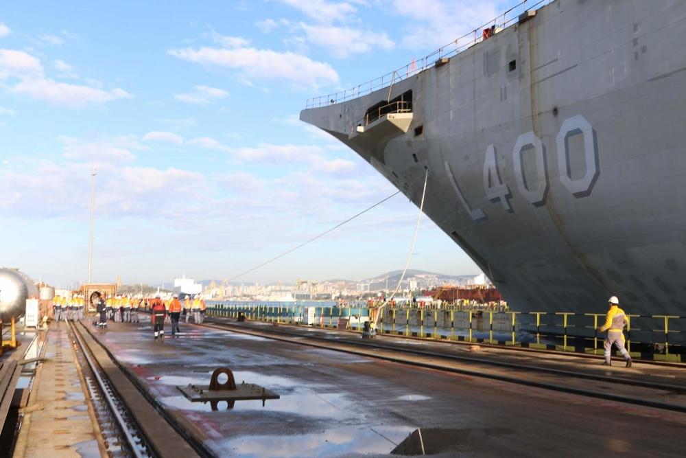 Türkiye'nin ilk uçak gemisi: TCG ANADOLU galerisi resim 15