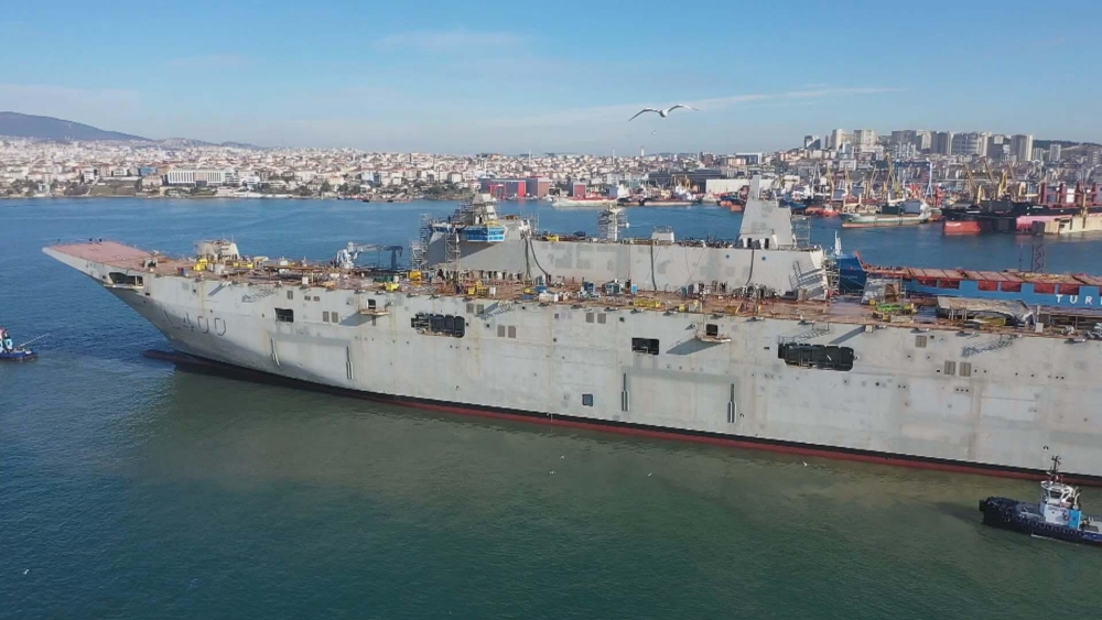 Türkiye'nin ilk uçak gemisi: TCG ANADOLU galerisi resim 2
