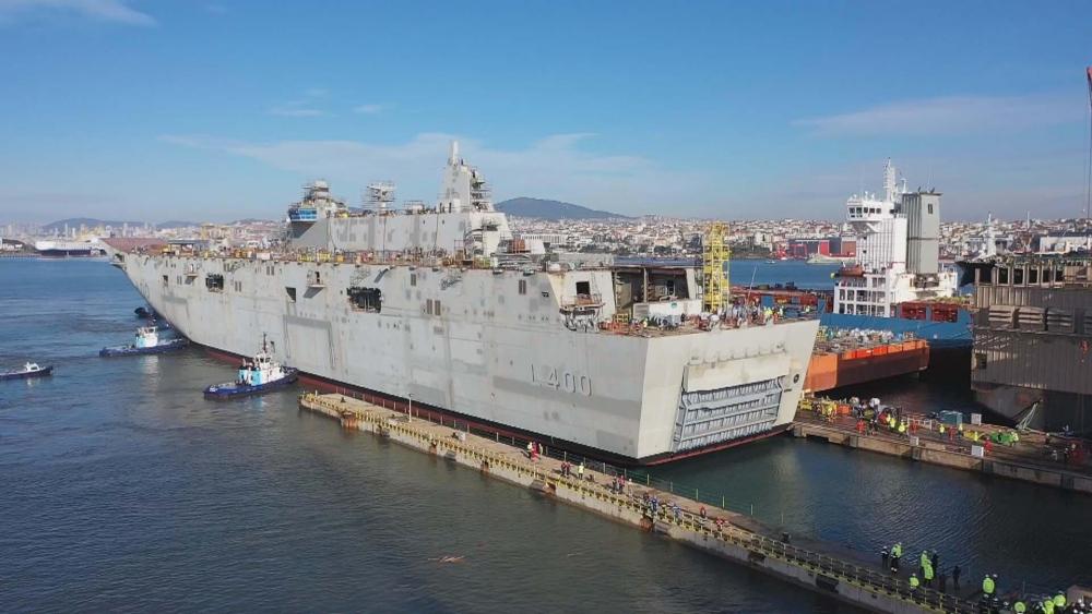 Türkiye'nin ilk uçak gemisi: TCG ANADOLU galerisi resim 5