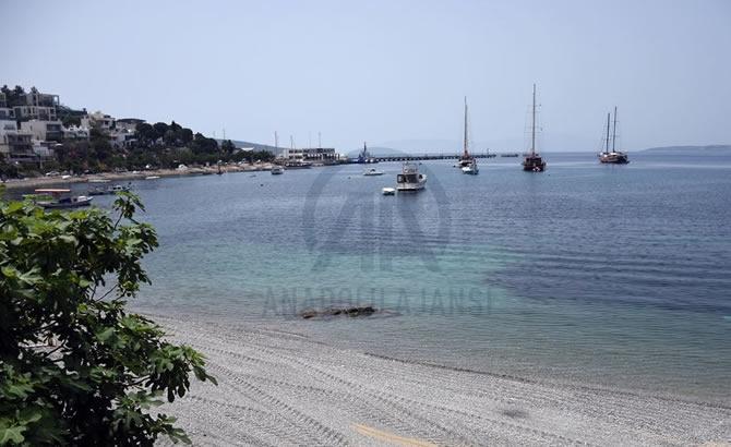 """""""Yeryüzü cenneti"""" mavi bayraklı plajlarıyla konuklarını bekliy galerisi resim 1"""