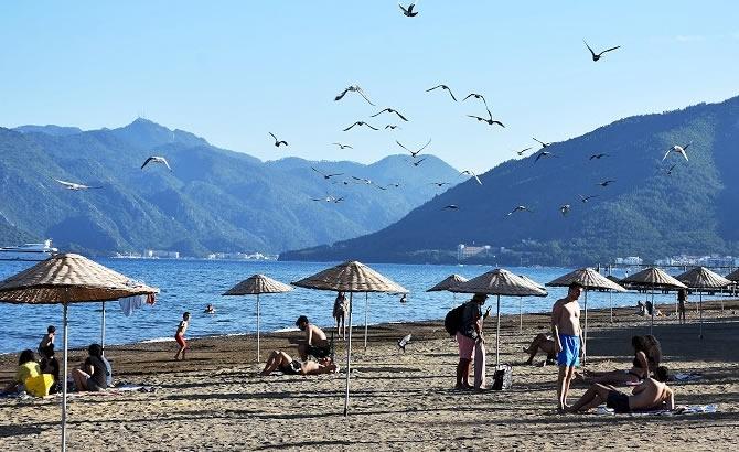 """""""Yeryüzü cenneti"""" mavi bayraklı plajlarıyla konuklarını bekliy galerisi resim 5"""