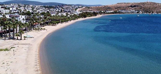 """""""Yeryüzü cenneti"""" mavi bayraklı plajlarıyla konuklarını bekliy"""