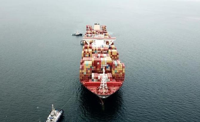 Kazazede gemi MSC TINA, böyle görüntülendi galerisi resim 10
