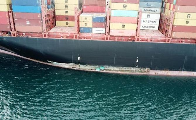 Kazazede gemi MSC TINA, böyle görüntülendi galerisi resim 11