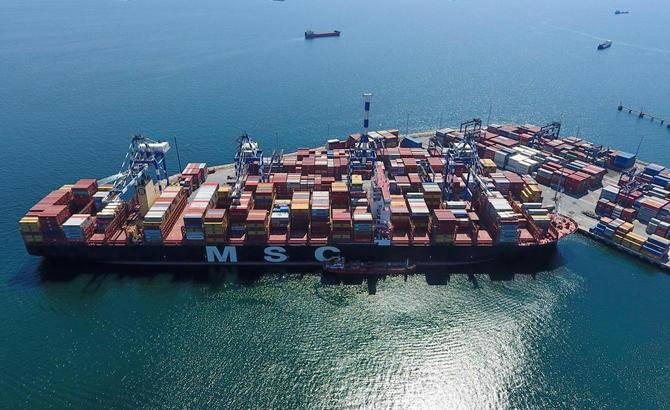 Kazazede gemi MSC TINA, böyle görüntülendi galerisi resim 7