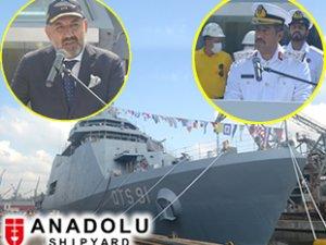 Anadolu Tersanesi, QTS 91 AL DOHA'yı Katar'a teslim etti
