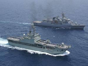 Umman Sultanlığı Güney Kıbrıs'a açık deniz gemisi hediye etti