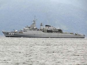 Brezilya Donanması'na ait Liberal Fırkateyni Mersin Limanı'na demirledi