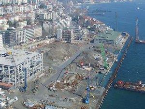 Galataport Projesi kapsamında Tarihi Karaköy yolcu salonu yıkıldı