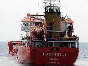 Türk bayraklı M/T HACI TELLI ve 11 mürettebat, deniz haydutları tarafından Libya'da kaçırıldı