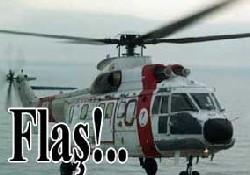 Sahil Güvenlik helikopteri düştü