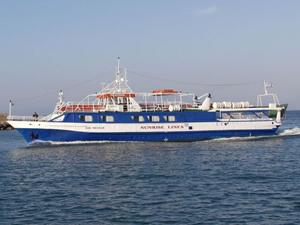 Küçükkuyu-Midilli gemi seferleri Mayıs ayında başlıyor