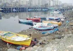Faroz Limanı dolgu alanı oldu