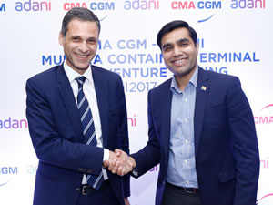 CMA CGM, Adani ile Hindistan'ın en büyük konteyner terminalini işletmek için anlaşma imzaladı