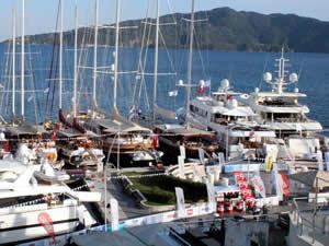 36. Marmaris Yacht Charter Show başladı