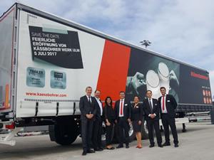TIRSAN'ın ürünleri, Münih Transport Logistic Fuarı'nda ilgi gördü