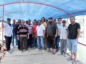 Antalya'da tekne sahipleri iskele yıkım kararına tepki gösterdi