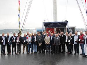 Ortaköy Denizcilik LisesiMezunları Derneği,Geleneksel Balık Günü'nü kutladı