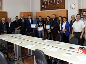 Hükümlüler, Amatör Denizcilik Hazırlık Kursu'nu tamamlayarak sertifikalarını aldı