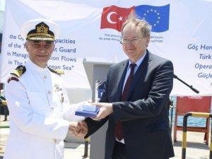Damen'in Sahil Güvenlik Komutanlığı için inşa ettiği arama kurtarma botlarından ikisi teslim edildi