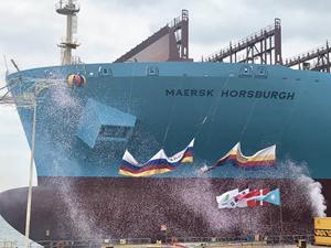 Maersk'in yeni H - Sınıfı gemisi 'Maersk Horsburgh'