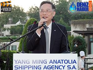 Yang Ming, Uzakdoğu'ya başlattığı direkt servis için lansman düzenledi