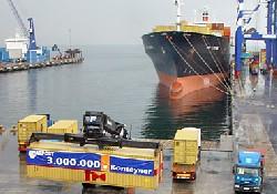 Marport 3 milyon TEU elleçledi