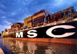 MSC'den İzmir İsrail hattı